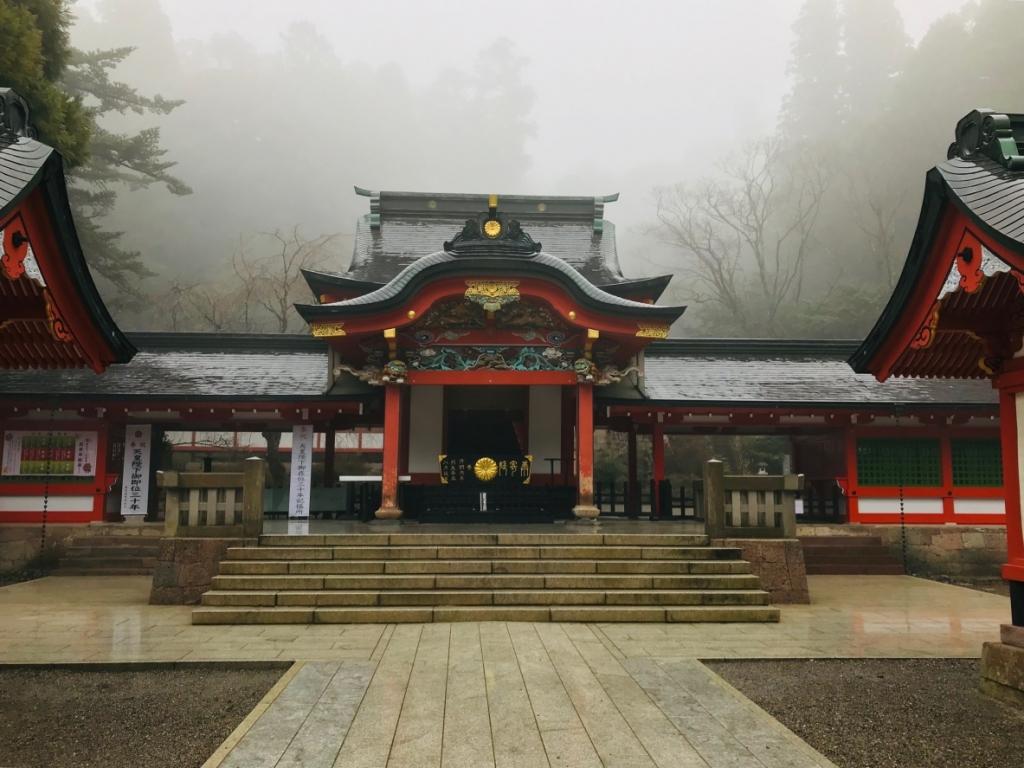 霧島神宮 本殿
