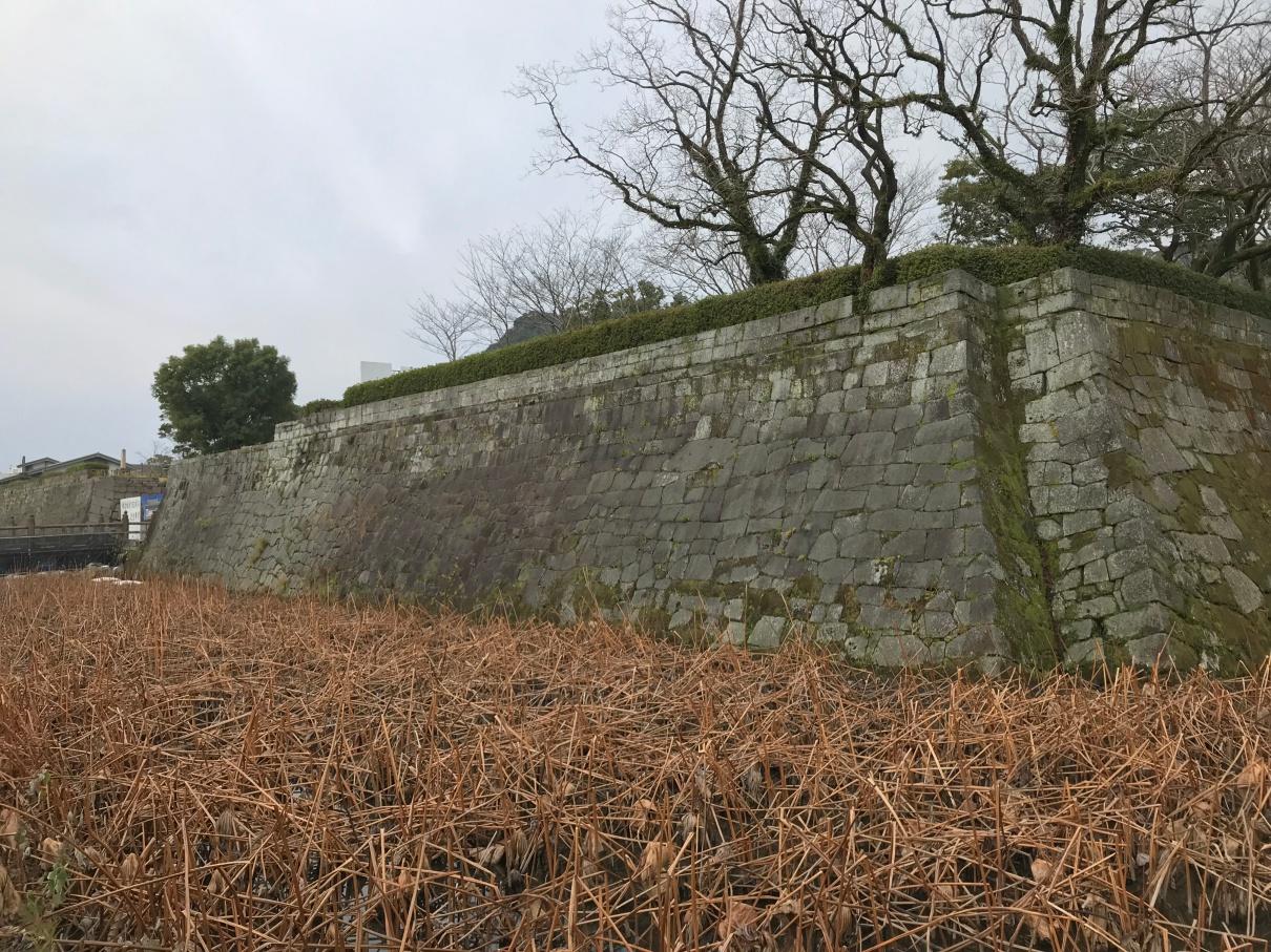 鹿児島城 石垣