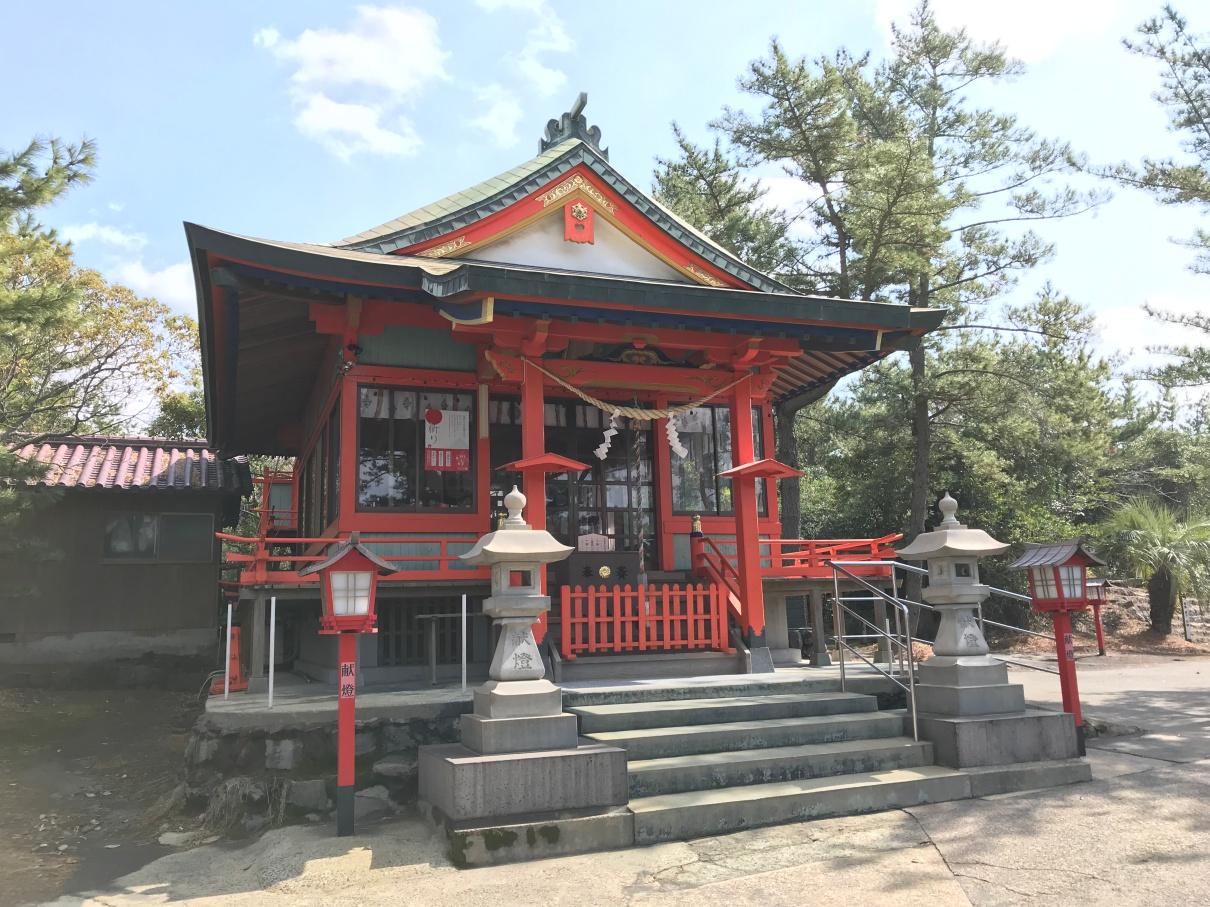 桜島 月読神社
