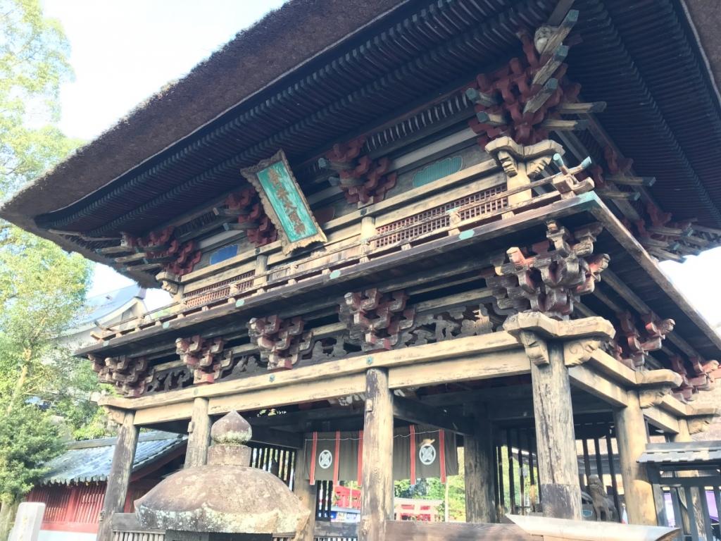 青井阿蘇神社 楼門